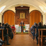 David Cox tells Trinity School Students about HITS