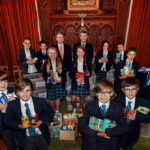 Trinity School Teignmouth donate their Harvest Festival Offerings
