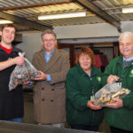 Truly Treats of Teignmouth donated their tray-baked off-cuts, for our special 2014 Christmas Hampers