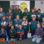 A big thank you to 4th Teignmouth Scouts for a fantastic donation of food