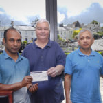 Kind donation of £130 to HITS from Naz Restaurant
