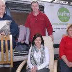 Resettlement services: HITS can provide furniture to people moving into a new home